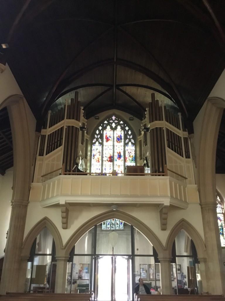 View of Choir